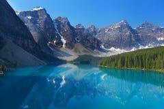 Le Montagne Rocciose canadesi Fotografia Stock