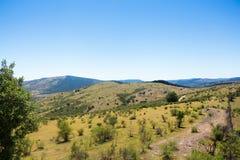 Le montagne si avvicinano al Talca fotografia stock libera da diritti