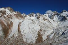 Le montagne si avvicinano a Chimbulak Almaty Kazakhstan Fotografia Stock