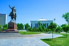 Le monument à Amir Timur Photos stock