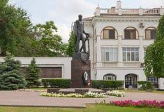 Le monument à amiral Dmitriy Sinyavin Images stock