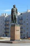 Le monument à Felix Dzerzhinsky à St Petersburg Photo libre de droits