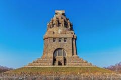 Le monument à la bataille des nations images stock