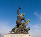 Le monument à la libération Photographie stock