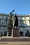Le monument à Maxim Gorky à St Petersburg Photographie stock libre de droits