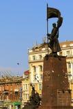 Le monument aux combattants pour la puissance soviétique dans Vladivostok image stock