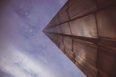 Le monument aux conquérants de l'espace. CENTRE D'EXPOSITION D'ALL-RUSSIAN. Moscou. Photographie stock libre de droits