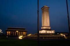 Le monument aux héros des gens Photos stock