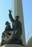Le monument aux marins marchands est mort dans la deuxième guerre mondiale photographie stock libre de droits