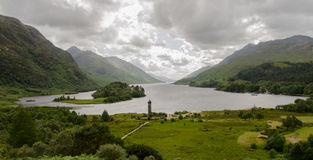 Le monument chez Glenfinnan images stock