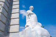 Le monument de Jose Marti à la place de révolution à La Havane Photo libre de droits