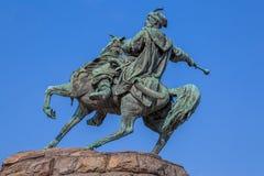 Le monument de Khmelnytsky à Kiev Image libre de droits