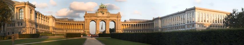 Le monument de l'indépendance de Bruxelles Photo libre de droits
