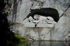 Le monument de lion images libres de droits
