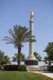 Le monument de mémorial de guerre, La Valette, Malte images stock