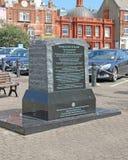 Le monument de mémorial de tiret de la Manche Image libre de droits