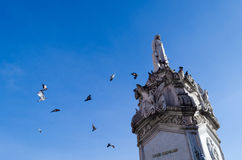 Le monument de Miguel Hidalgo image stock