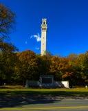 Le monument de pèlerin, Provincetown, mA Images libres de droits