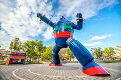 Le monument de robot de Gigantor à la station de Shin-nagata à Kobe photographie stock