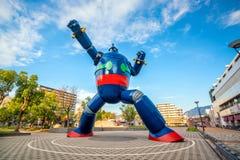 Le monument de robot de Gigantor à la station de Shin-nagata à Kobe photo stock