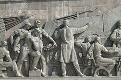 Le monument de Rocket, bas-relief images stock