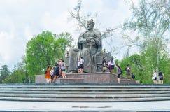 Le monument de Tamerlane Photos libres de droits