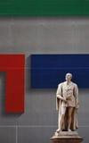 Le monument de Tassoni à Modène Images libres de droits