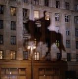 Le monument de Yuri Dolgoruky Photographie stock