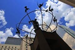 Le monument du multiculturalisme dans le Canada de Toronto, juillet, 2016 25ème Image stock