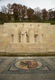 Le monument international à la réforme à Genève, Suisse Images libres de droits