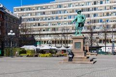 Le monument IV chrétien est situé dans la région de Stortorvet d'O photos stock