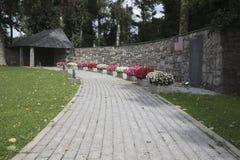 Le monument pour les 84 a tué les prisonniers américains de guerre Photo stock