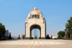 Le Monumento à la révolution à Mexico Image libre de droits