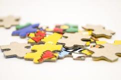 Le morceau de puzzle pour font la photo Photos libres de droits