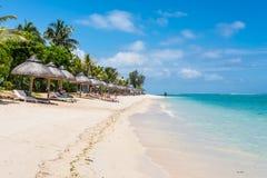 Le Morne Пляж, Маврикий Стоковые Изображения RF