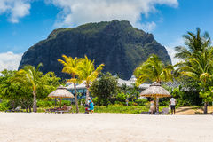 Le Morne Brabant Mauritius Indian Ocean Stock Photo
