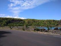 Le morne Maconde i Mauritius Arkivfoton