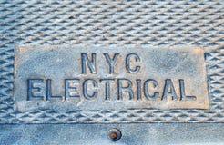 Le mot électrique photos stock