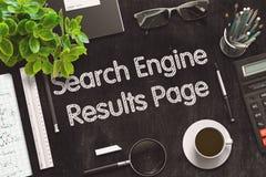 Le moteur de recherche résulte concept de page 3d rendent Photos libres de droits