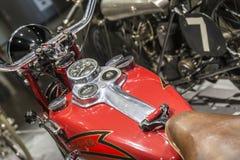 Le motocycle de Crocker Image libre de droits