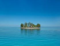 Le Motu chez Mo'orea, Tahiti Images libres de droits