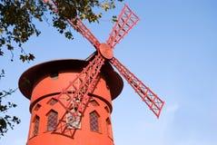 le moulin胭脂 免版税图库摄影