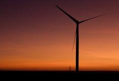 Le moulin à vent Image libre de droits