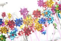 Le moulin à vent de couleur Image libre de droits