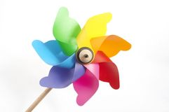 Le moulin à vent de l'enfant Photo libre de droits