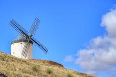 Le moulin à vent de Mancha de La photographie stock
