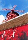 Le Moulin Румян Парижа Стоковая Фотография