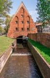 Le moulin de Wielki Mlyn à Danzig image stock