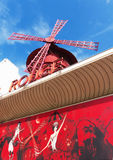 Le Moulin Rouge of Paris Stock Photography