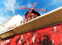Le Moulin Rouge of Paris Royalty Free Stock Images